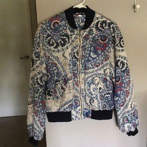 Free People bomber jacket size XS